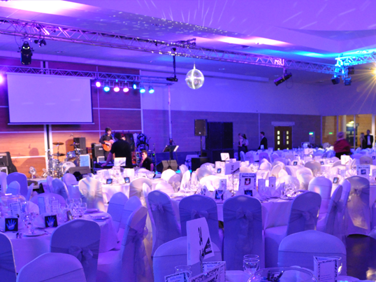 NHS Amazon Ball 2012 - Full Production By Asys Events - Audio, Lighting