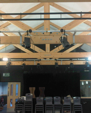 Academy Drama Studio Install - Audio, Lighting